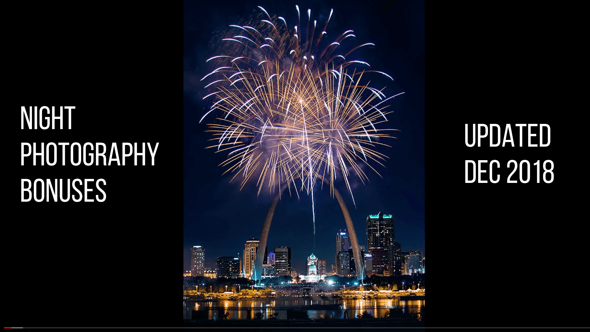 Fireworks Photography Module