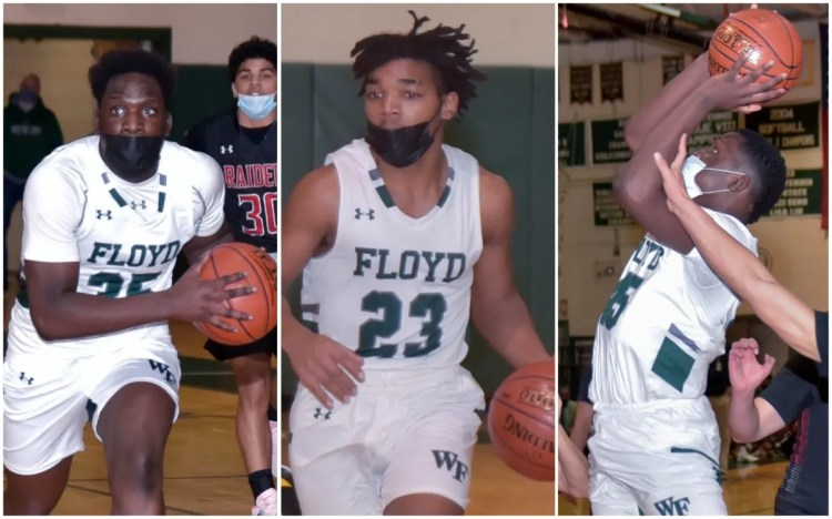 boys' basketball collage