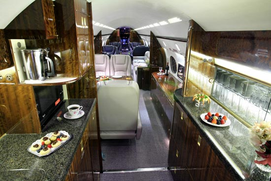 Gulfstream IVSP Specifications Cabin Dimensions Speed