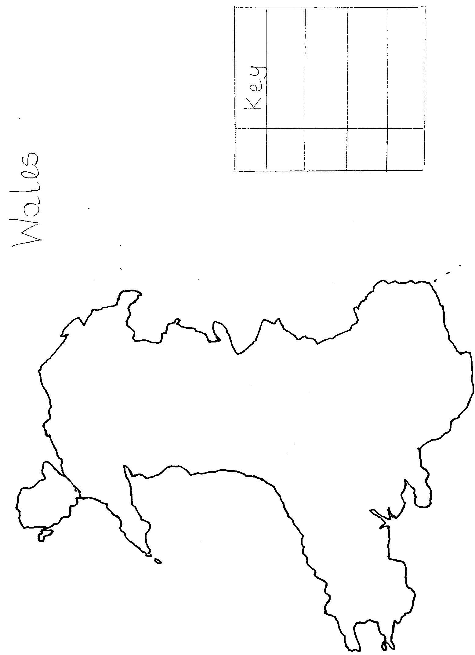 Map Legend Worksheet