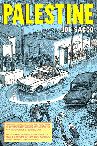 Palestine by Joe Sacco cover.