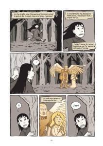 A look inside Saints, by Gene Luen Yang.