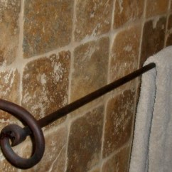 Kitchen Towel Bars Swanstone Sinks Wrought Iron And Bathroom Hardware - Paso ...
