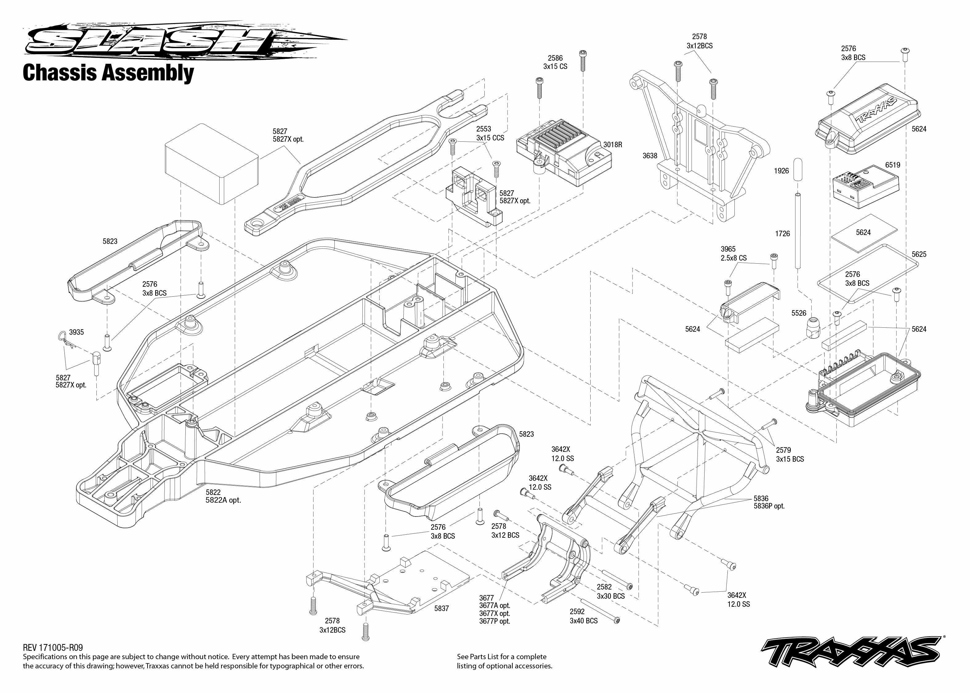 Traxxas Slash 1/10-Scale 2WD SCT RTR with TQ 2.4GHz