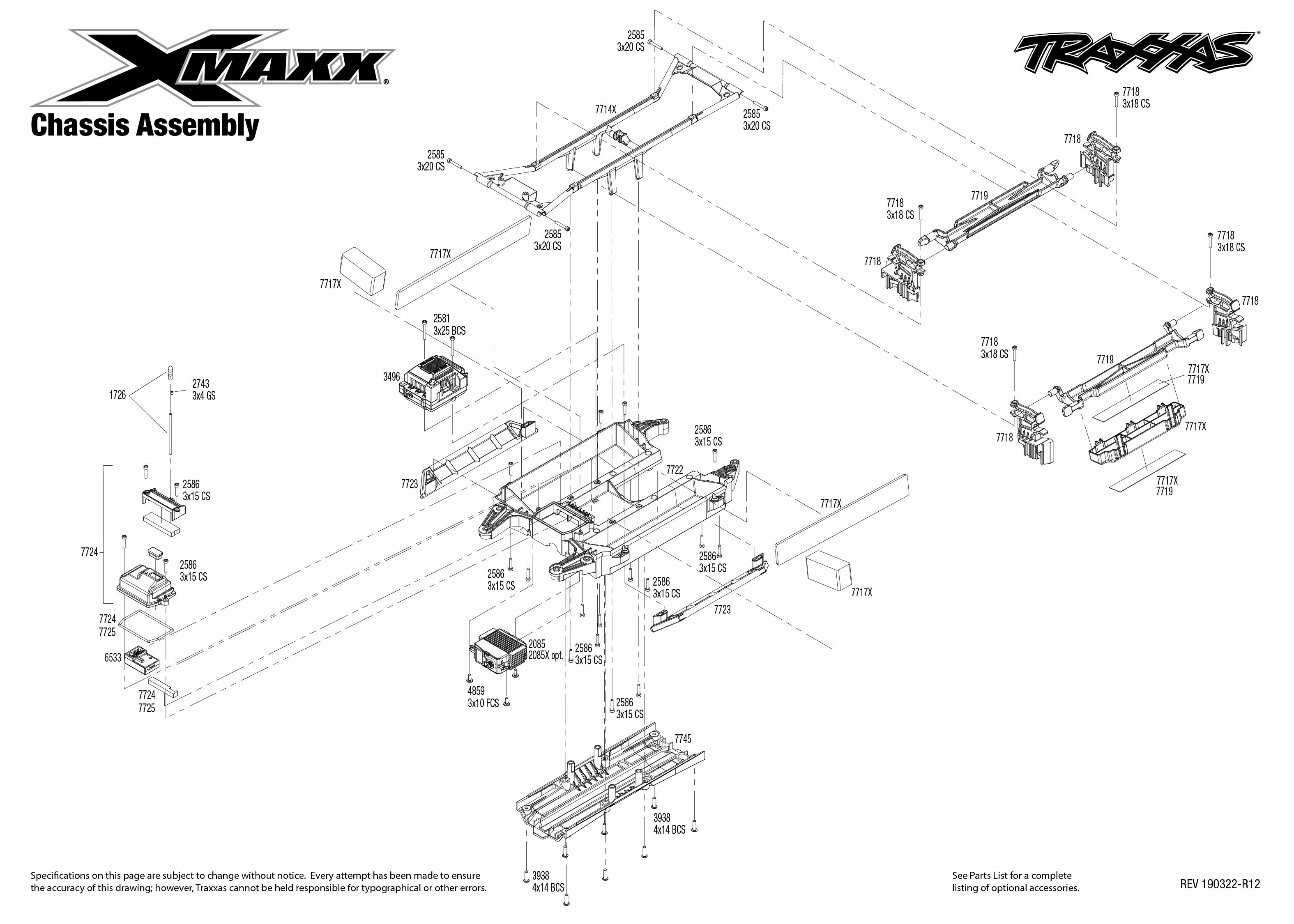 Traxxas X-Maxx RTR 8s-Capable Brushless 4WD 1/5 Monster