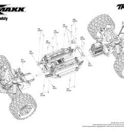 x maxx rtr 8s capable brushless 4wd 1 5 monster truck modular assembly  [ 3150 x 2250 Pixel ]