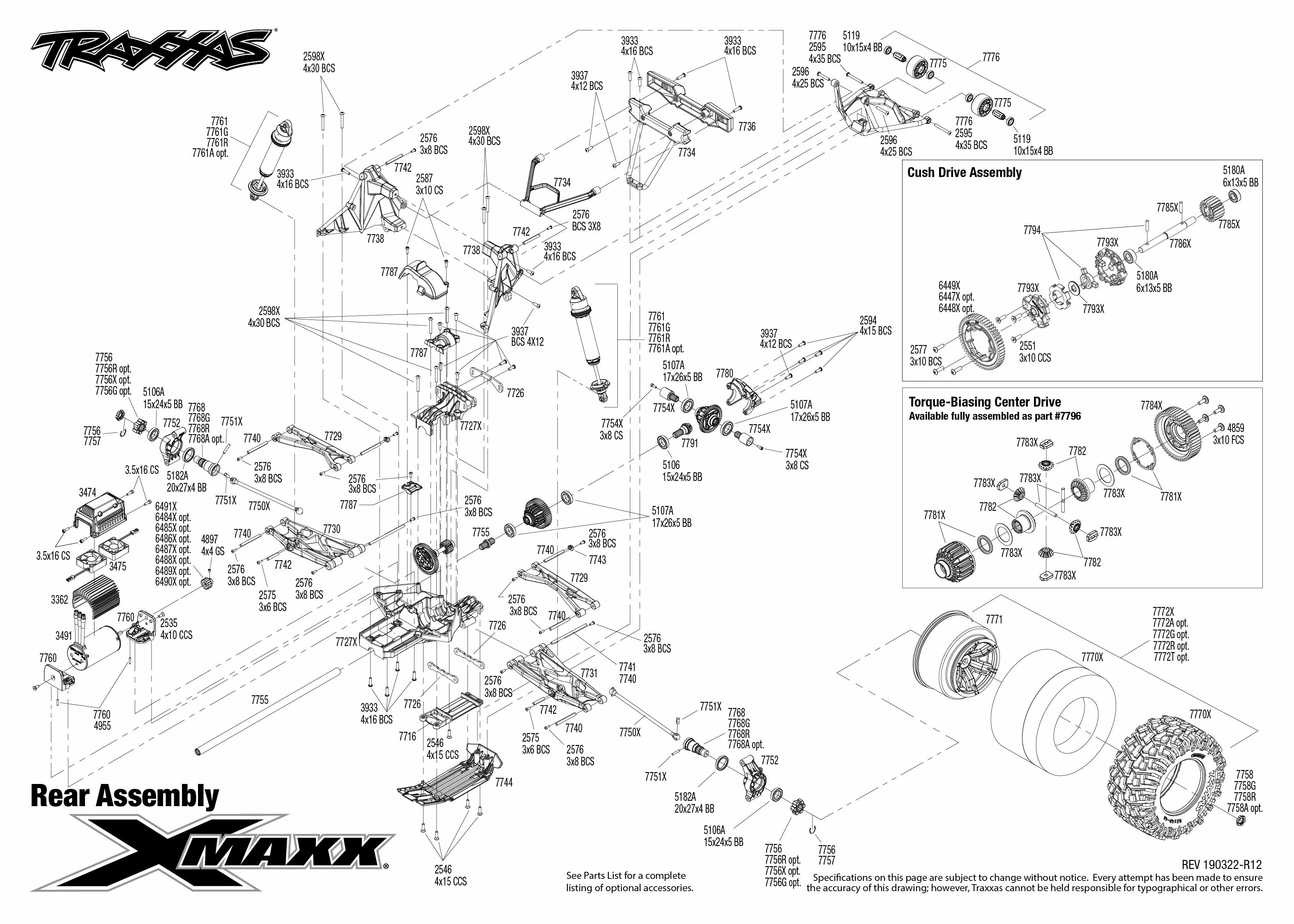 Traxxas X-Maxx 4WD RTR 8s-Capable Brushless 1/5 Monster