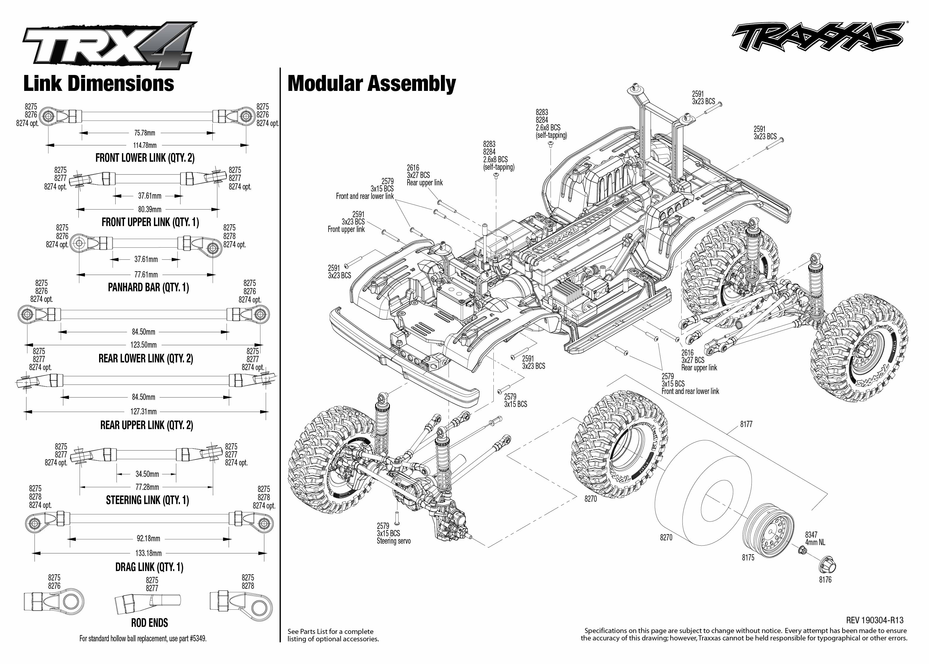 Traxxas Ford Bronco 4WD Electric Rock Crawler Truck with