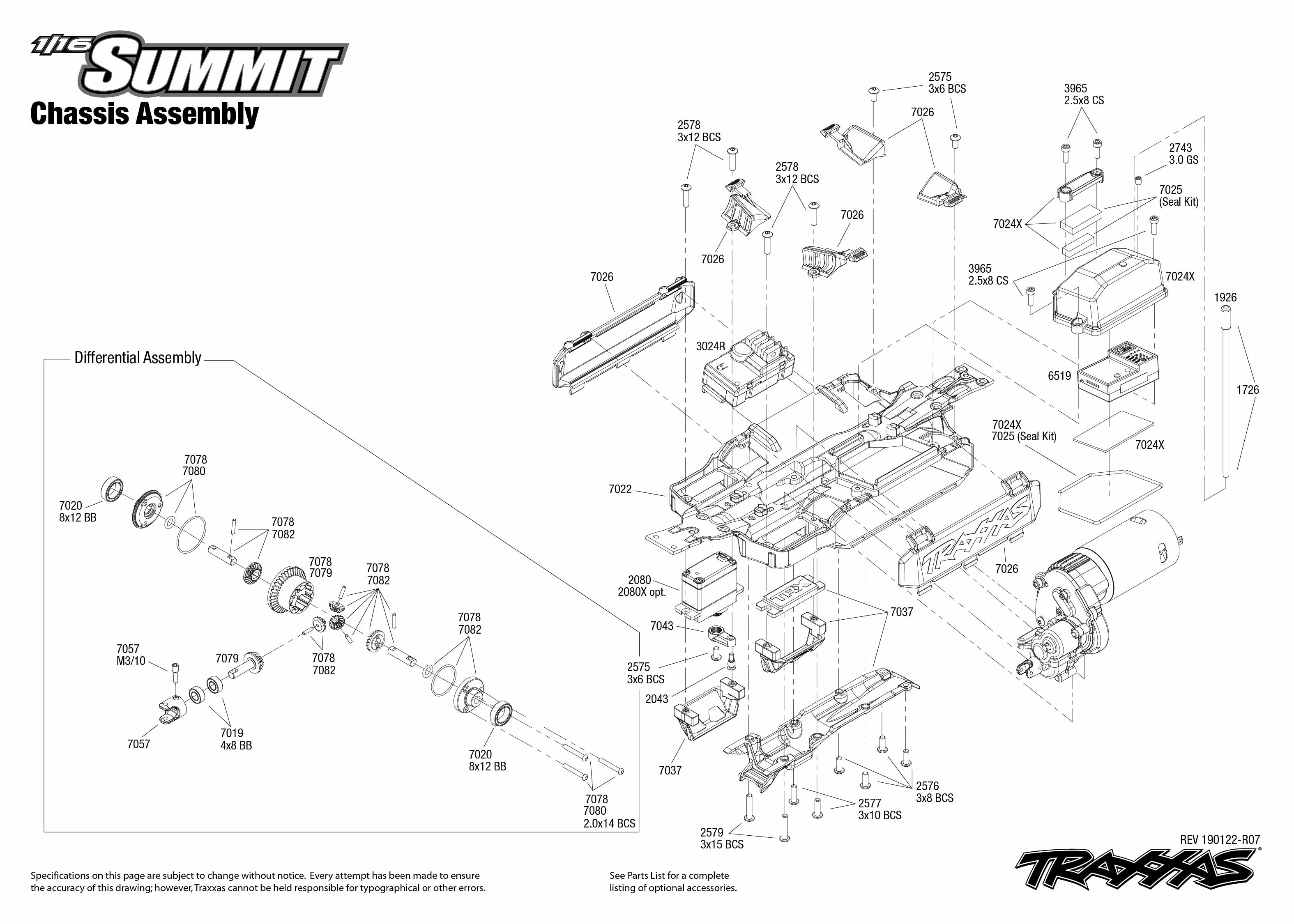 Traxxas Summit 1/16 4WD Electric Extreme Terrain Monster