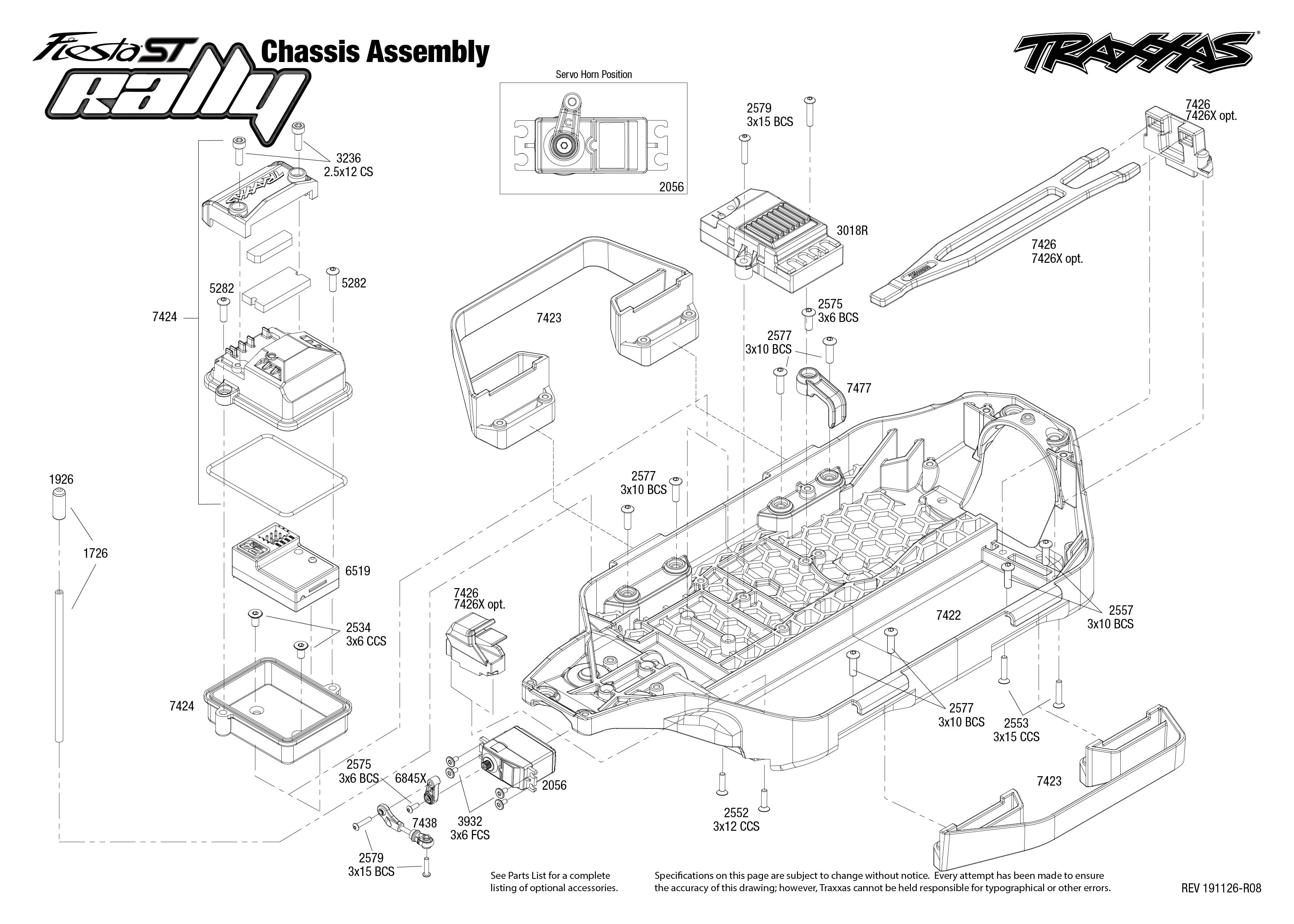 Traxxas Ford Fiesta 1/10 Scale All Terrain ST Rally