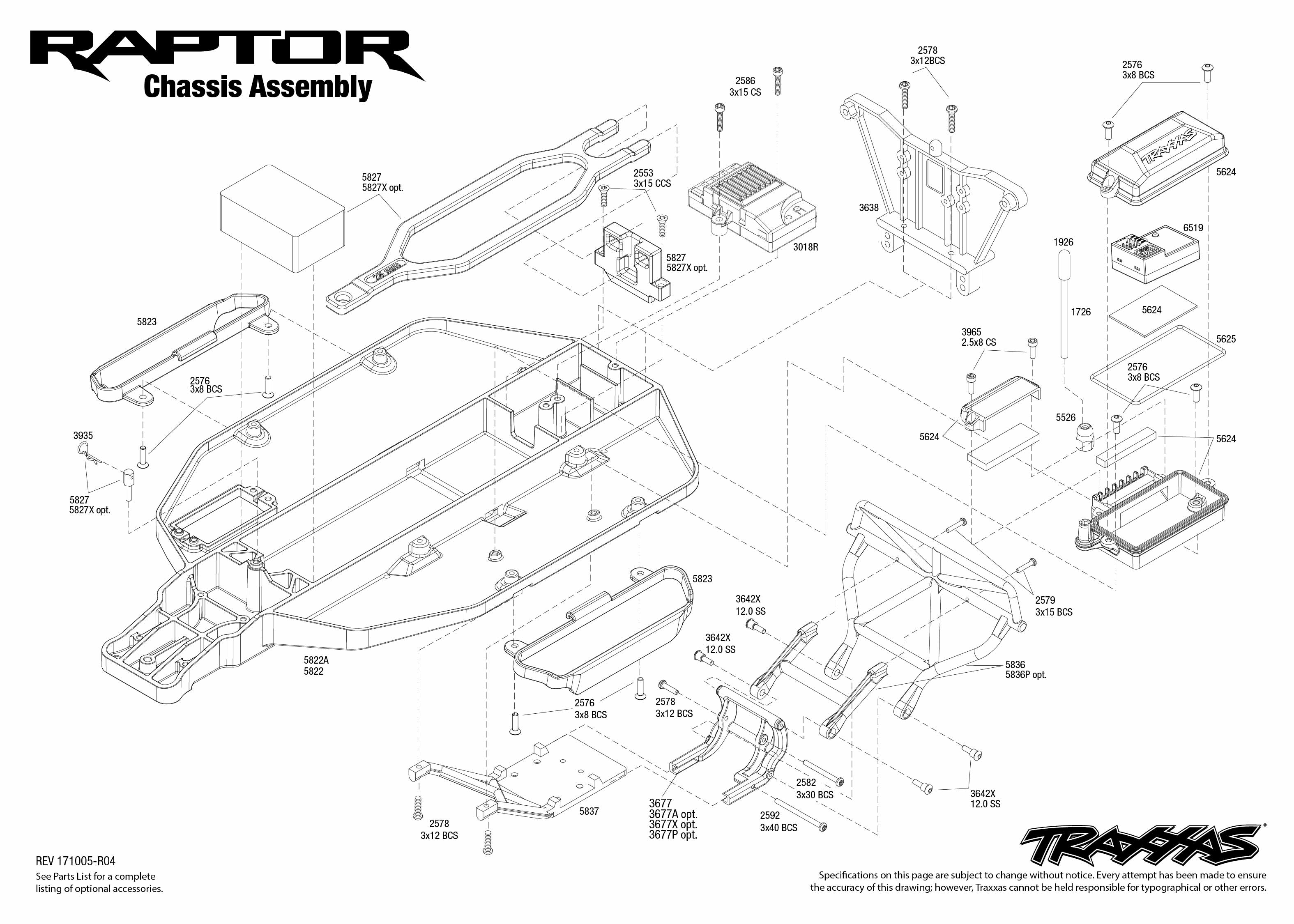 Traxxas Ford Raptor 1/10 2WD RTR SCT with XL-5, FOX