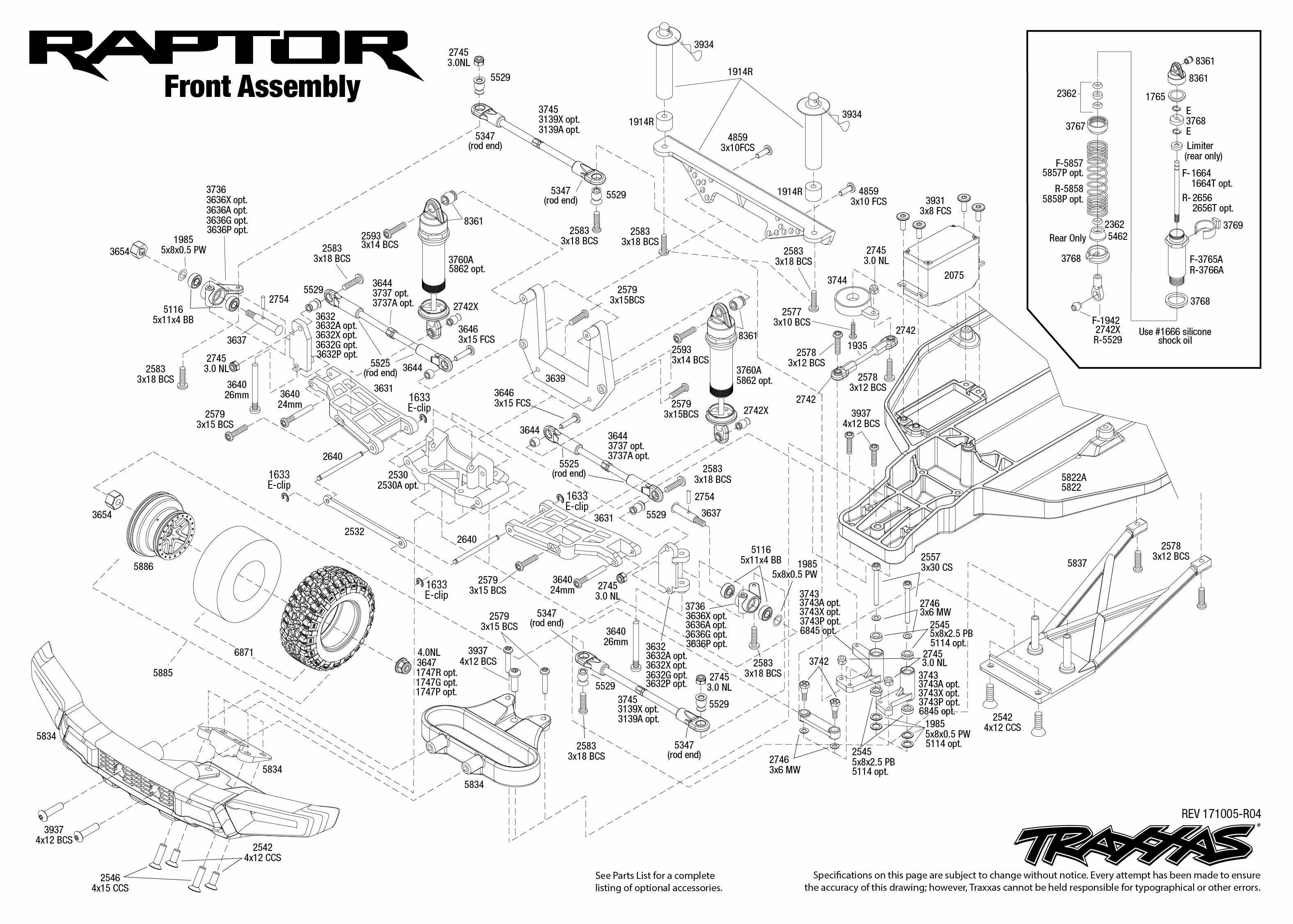 Traxxas Ford Raptor RTR wTQ 2.4GHz WHT TRA58094-1-WHT