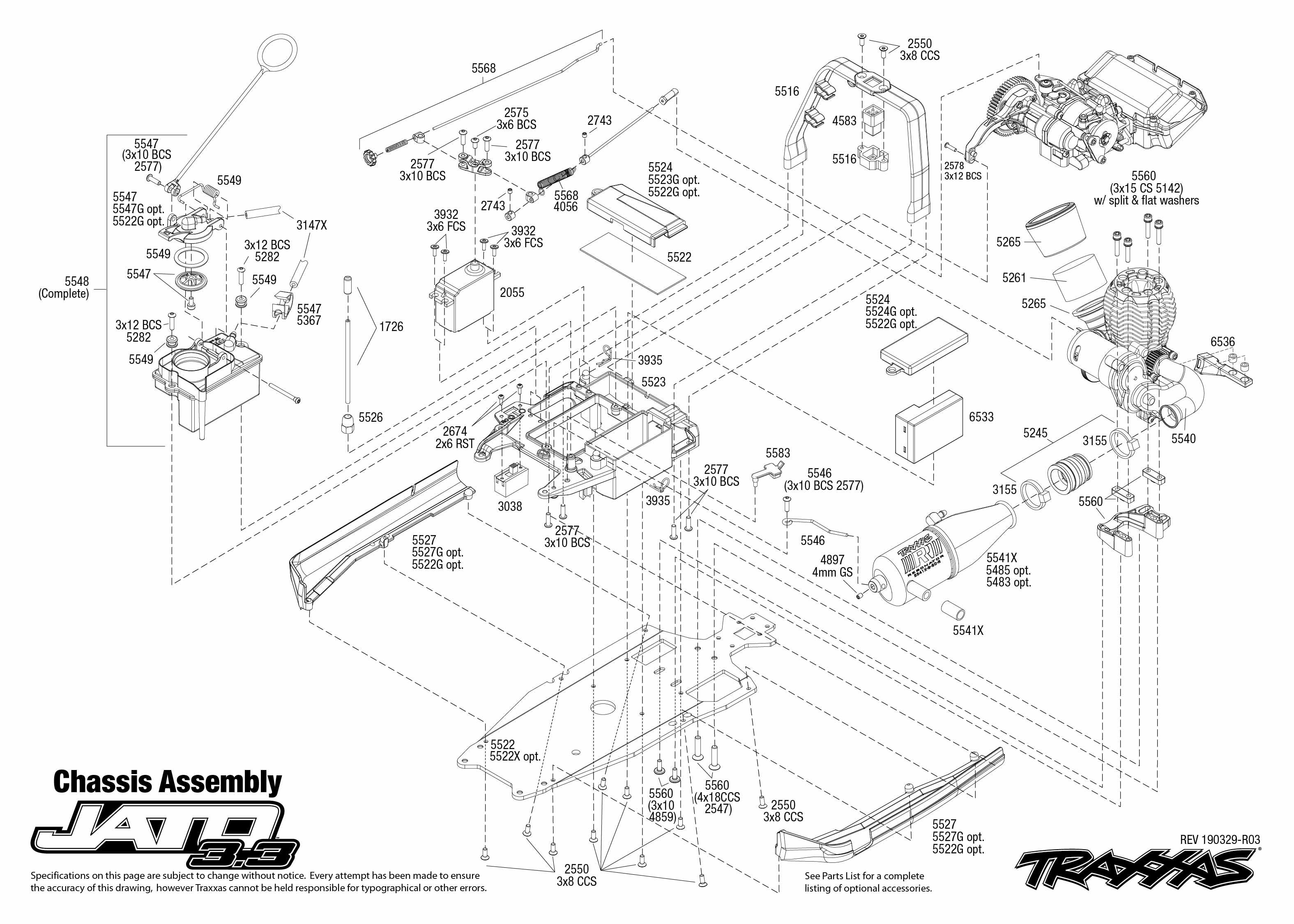 Traxxas Jato 3.3 2-Speed Nitro-Powered 2WD 1/10 Stadium