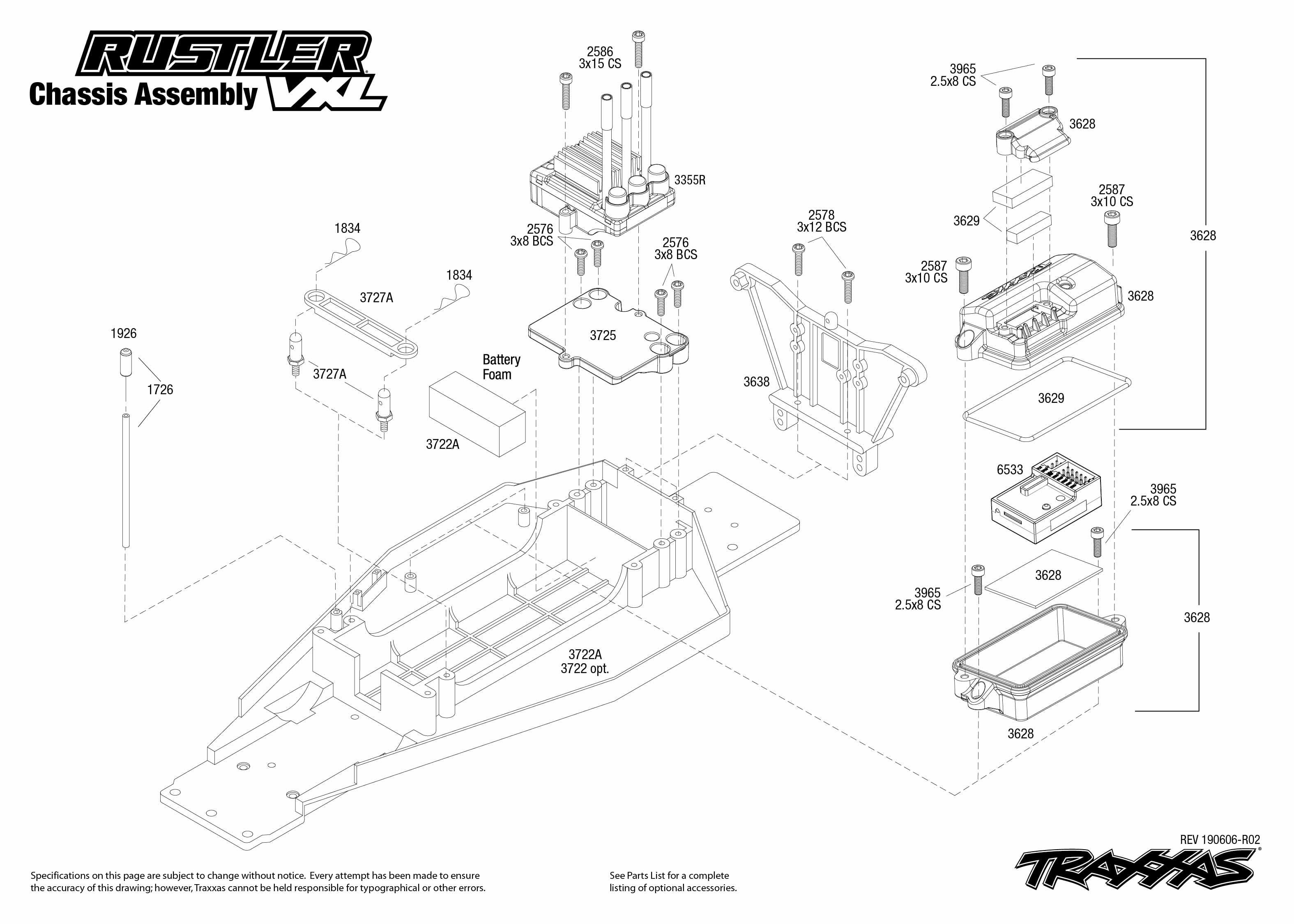 Traxxas Rustler VXL:2WD 1/10 Scale Stadium Truck with TSM