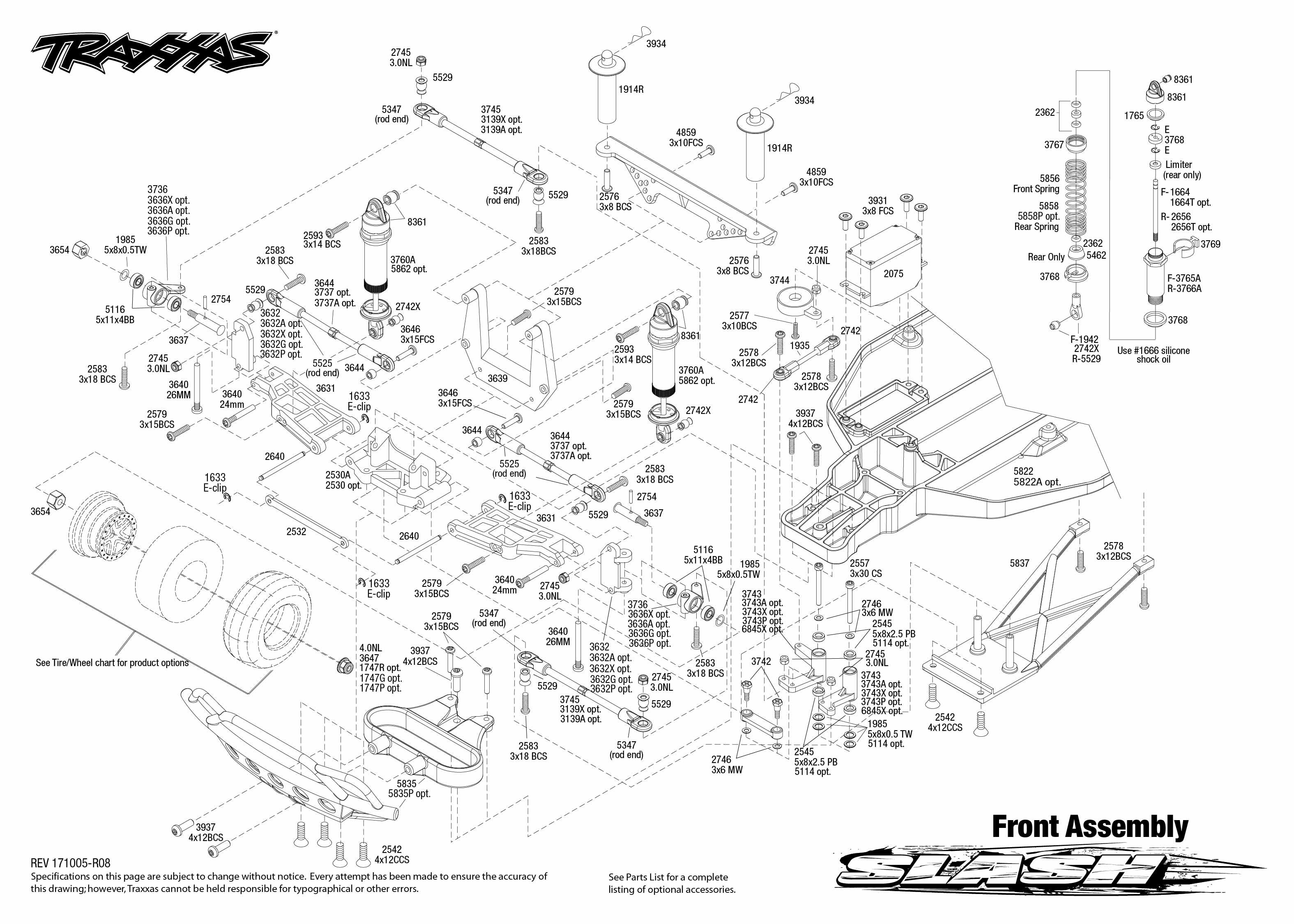 Traxxas Slash 1/10-Scale 2WD Short Course Racing Truck