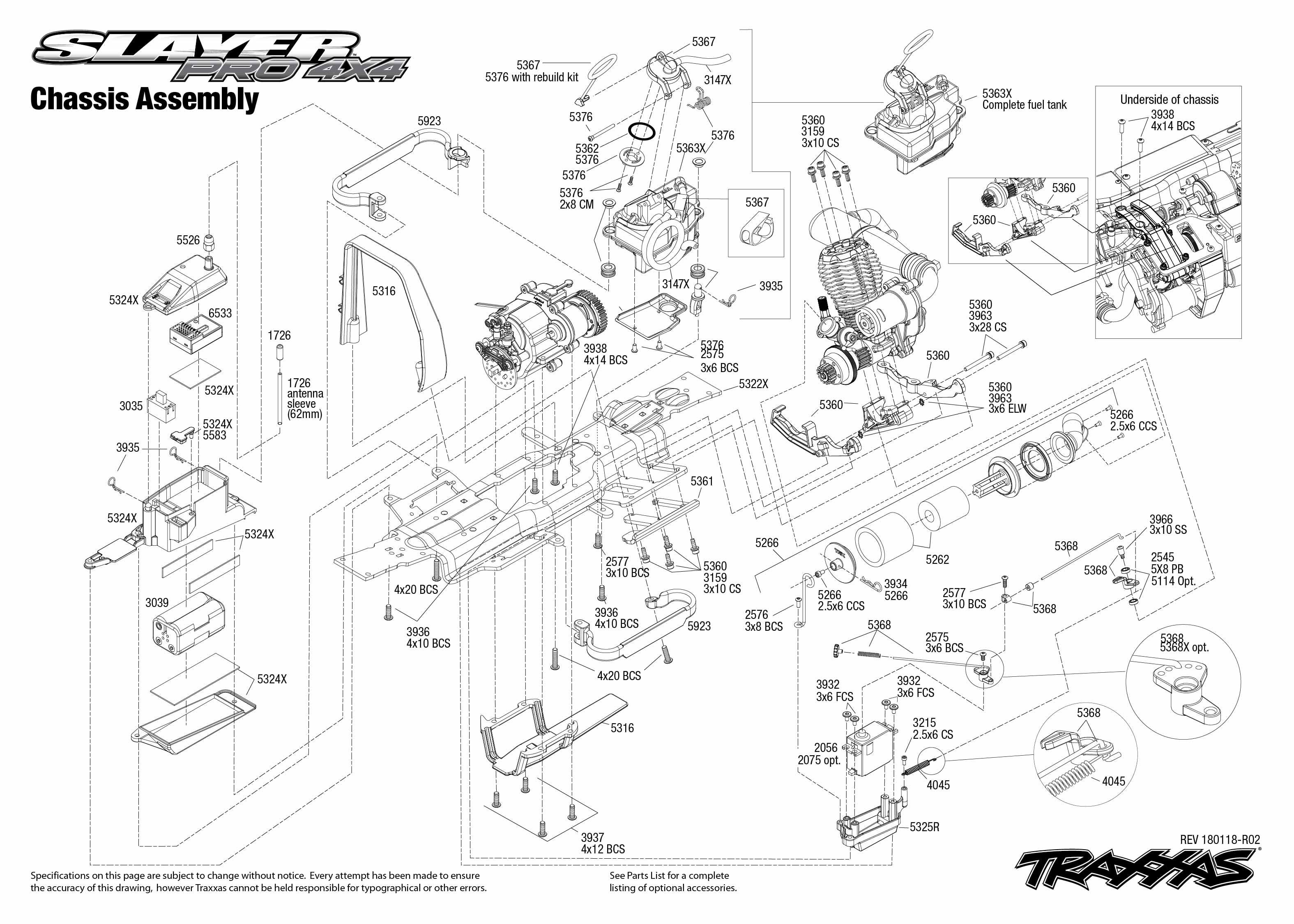 Traxxas Slayer Pro Nitro Power Rtr 4wd 1 10 Scale Short