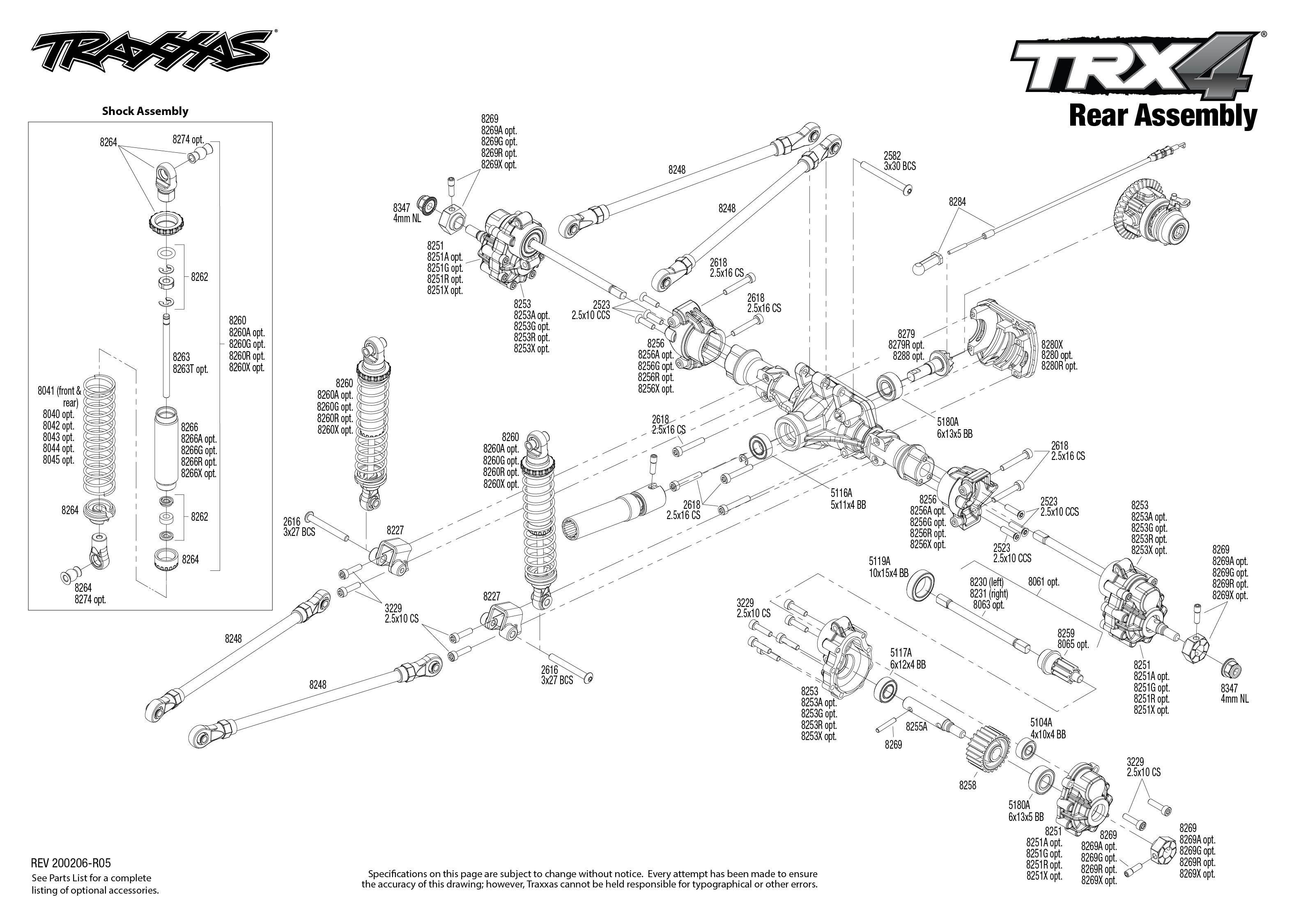 Traxxas Blazer Scale and Trail 1/10 4WD Rock Crawler
