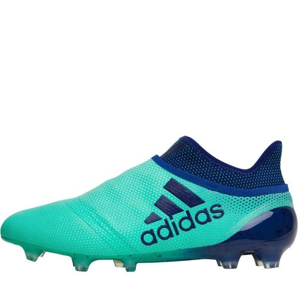 Adidas Mens X 17 Purespeed Fg Football Boots Aero Green Unity Ink -res