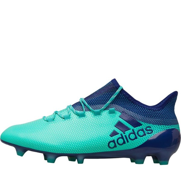 Adidas Mens X 17.1 Fg Football Boots Aero Green Unity Ink -res