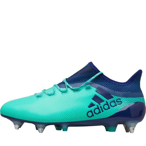 Adidas Mens X 17.1 Sg Football Boots Aero Green Unity Ink -res