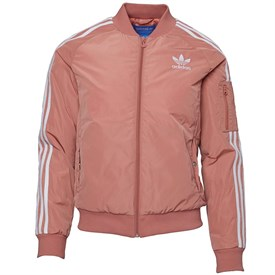 adidas Originals Womens Bomber Jacket Raw Pink