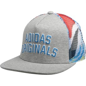 adidas Originals Snapback Cap Medium Grey Heather/Multicolour