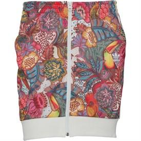 adidas Originals x The FARM Company Womens Fugiprabali Track Skirt Multicolour
