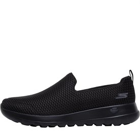 All Black Slip On Shoes Womens