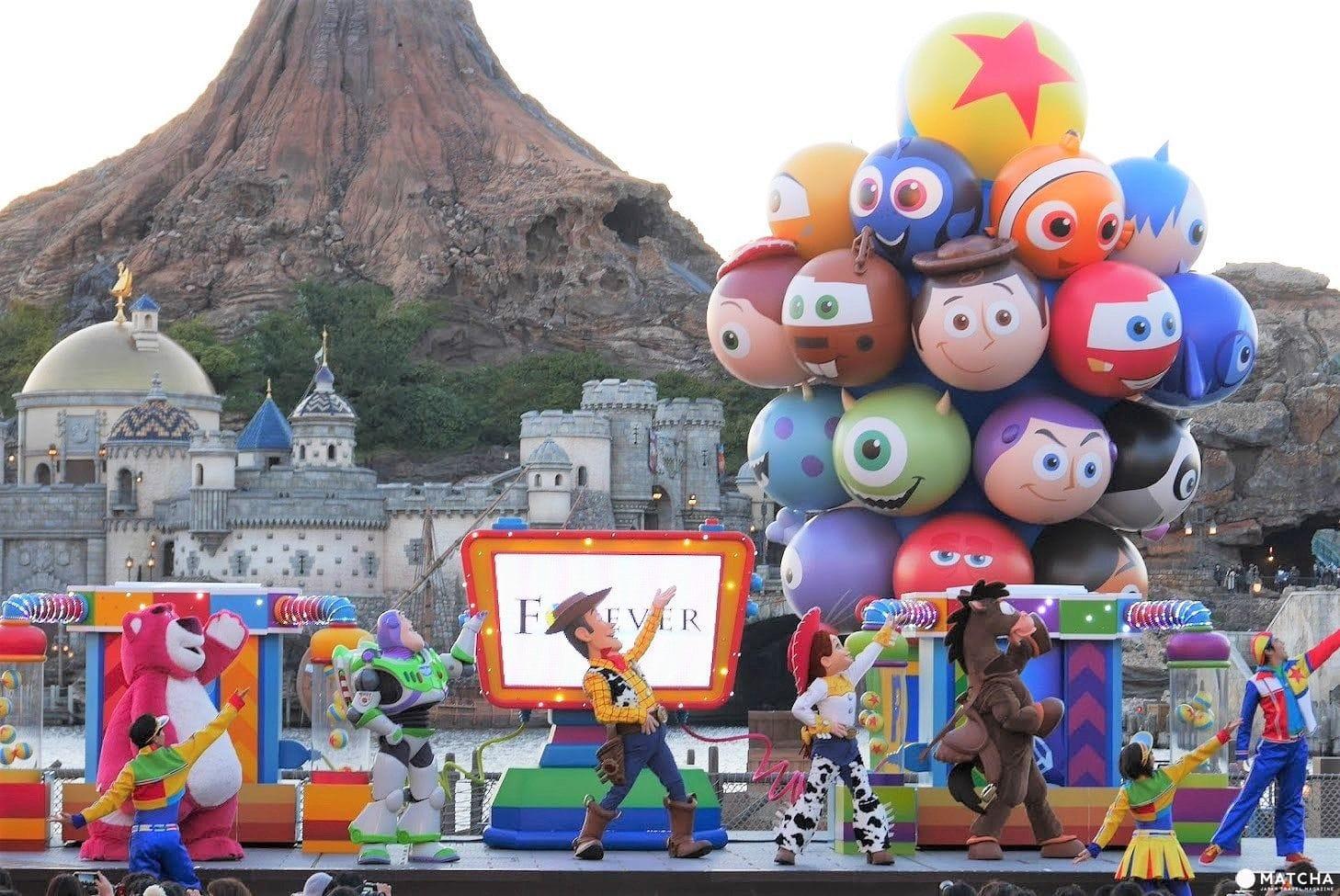 2018年東京迪士尼海洋「皮克斯遊戲時間」全新特別活動全攻略! | MATCHA - 日本線上旅遊觀光雜誌