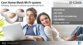Pålidelig, fleksibel, kraftfuld og problemfri Wi-Fi 1