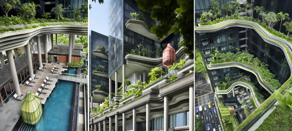 Parkroyal On Pickering Sustainable And Green Features