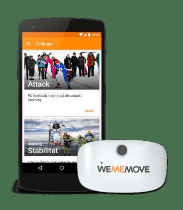 Almi Invest och Jane Walerud investerar 6 miljoner i WeMeMoves intelligenta träningstjänst 1