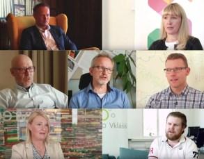 Några av Sveriges ledande aktörer i skolvärlden berättar om Skolon 3