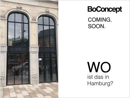 Hamburg: BoConcept eröffnet neuen Store am Gänsemarkt