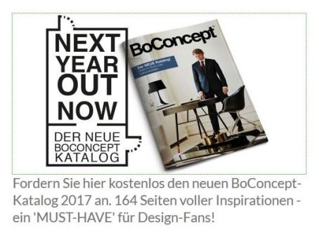 BoConcept NEW IN: Der neue Katalog 2017