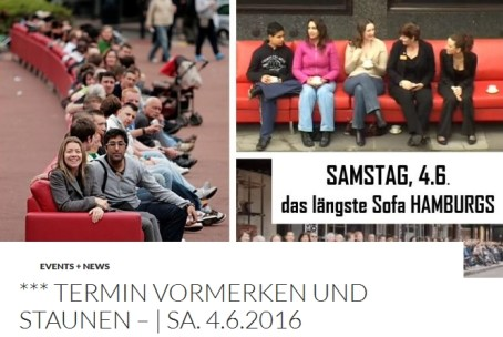 Das längst Sofa Hamburgs