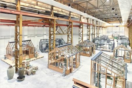 Eröffnung von Deutschlands größtem Showroom für Gewächshäuser