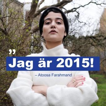 ATOOSA STARTADE KAMPANJEN #jagär2015