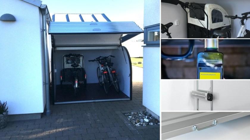 Allt fler Bostadsrättsföreningar och Fastighetsägare väljer Doomans säkra och tillgängliga Cykelgarage 3