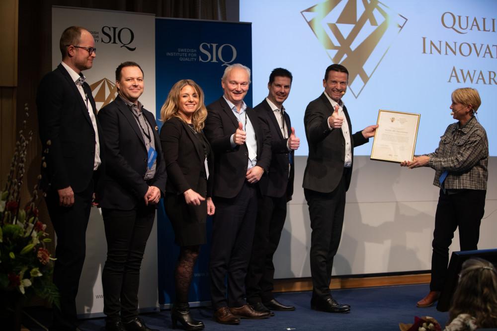 Hållbarhet och framtidstro genomsyrade årets Quality Innovation Award-gala 3