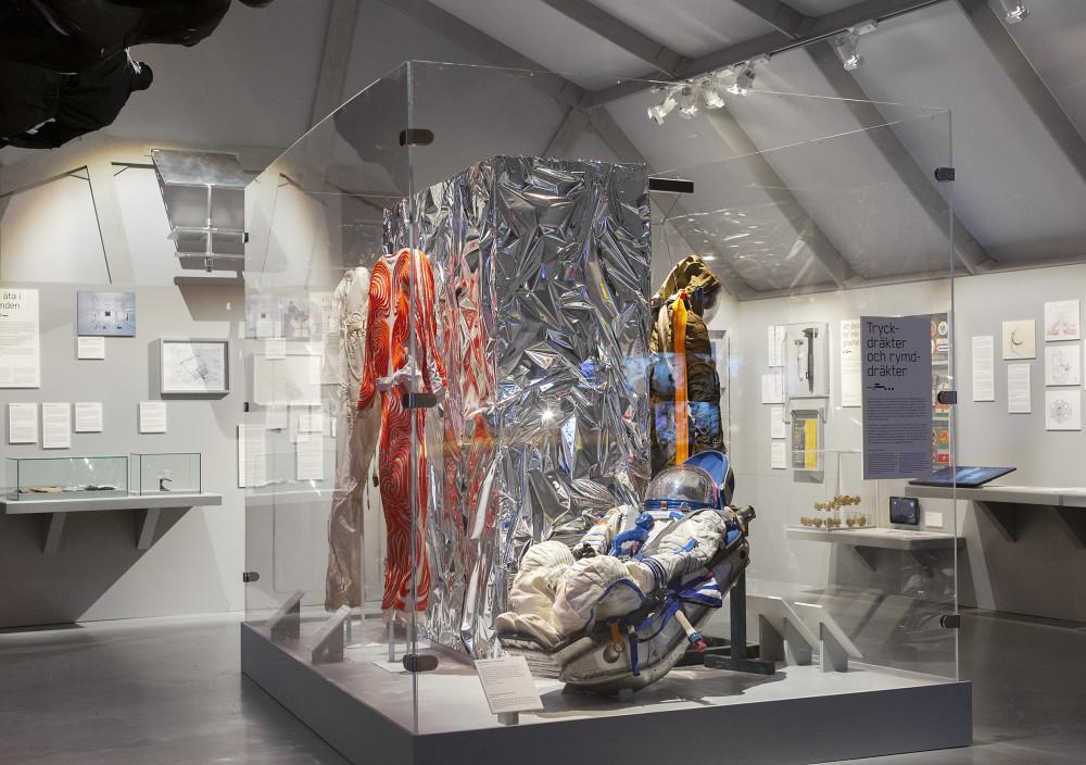 Tekniska öppnar – digital pressvisning av nya utställningarna Moving to Mars och Antropocen 3