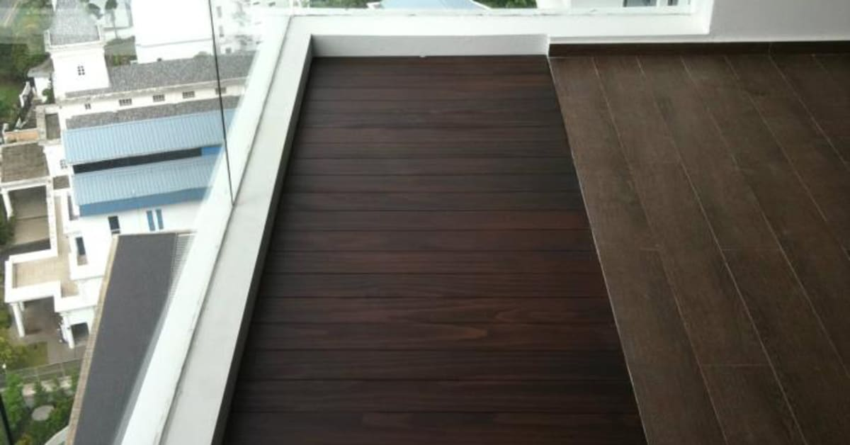 Outdoor Decking To Beautify Your Balcony  Evorich Flooring