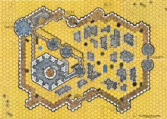 map medieval fortified town condition ex