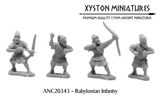 Xyston Miniatures Achaemenid Persian 15mm Babylonian
