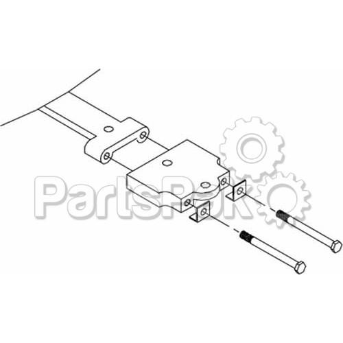SeaStar Solutions (Teleflex) HO5035; Tiller Arm Adapt Kit