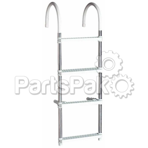 SeaChoice 71560; Boarding Ladder- 4 Step-