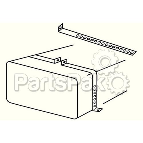 Moeller 300110; Metal Tank Cradle Install Kit