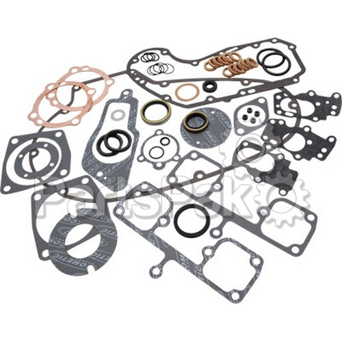 Cometic C9371; 5/Pk Clutch Shell Oil Seal Harley Davidson