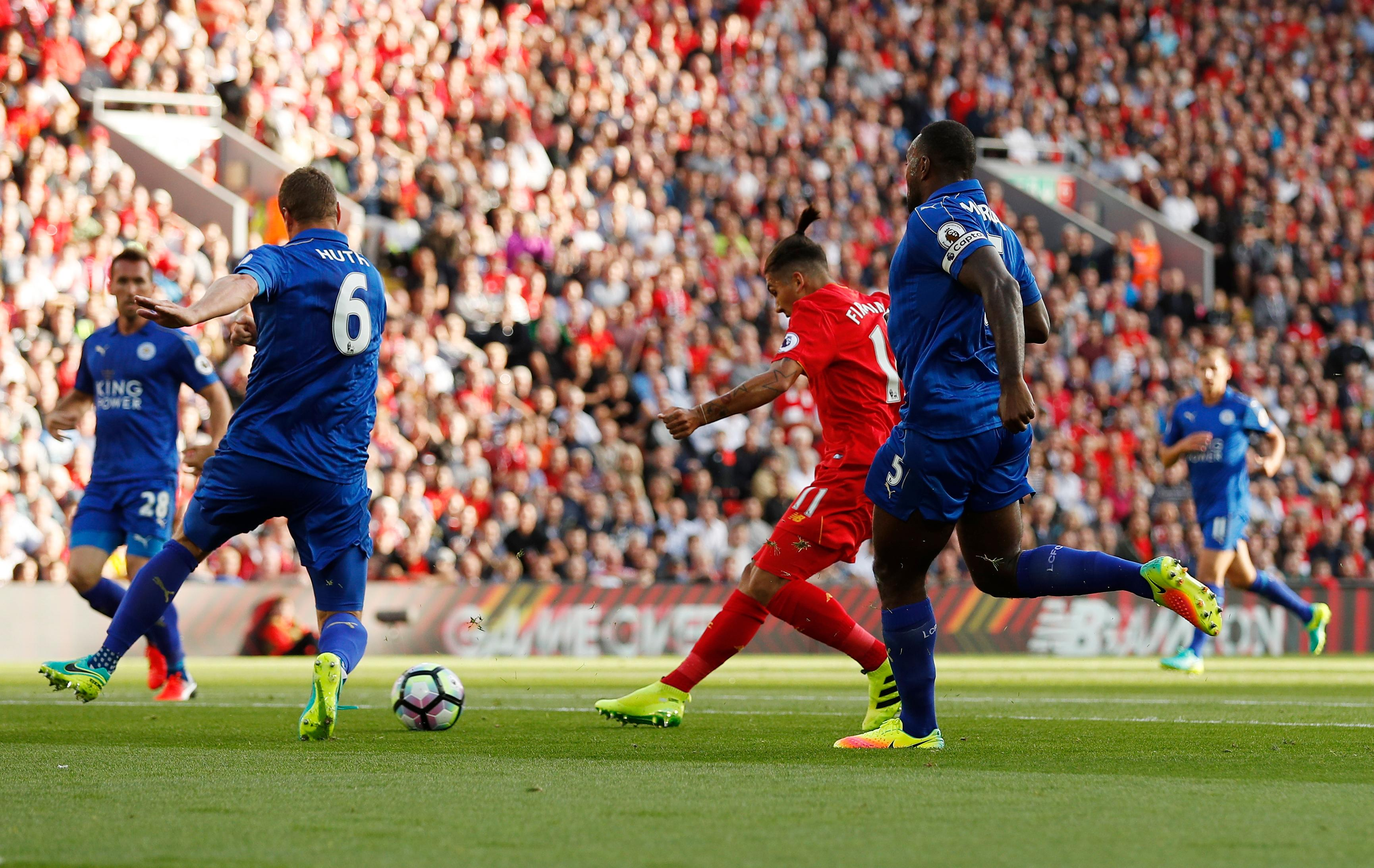Compare and buy premier league tickets for brentford fc vs liverpool fc on saturday, september 25th, 2021 at griffin park in brentford. Liverpool put four past Leicester