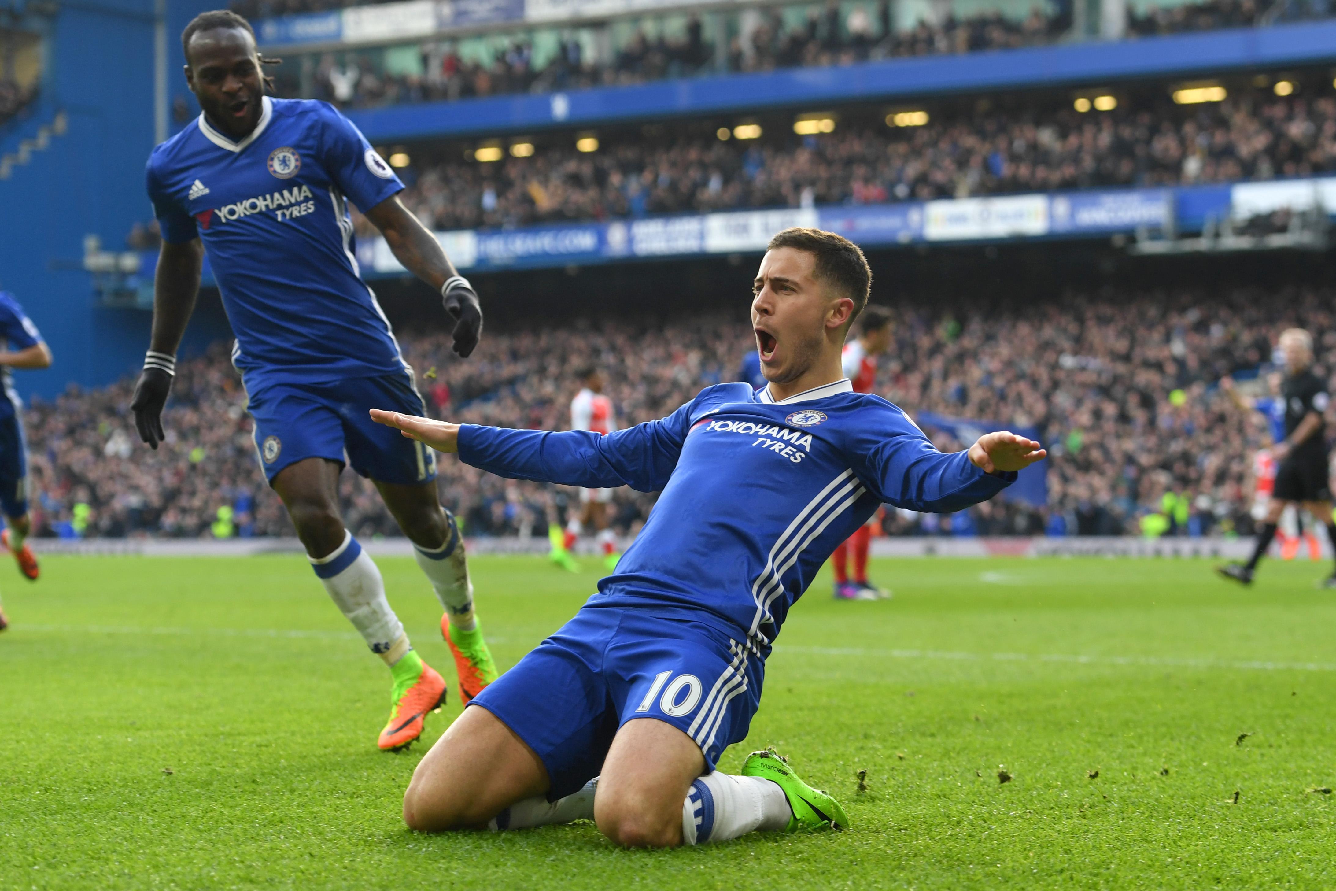 Premier league match of the week: Hazard shines as Chelsea extend lead